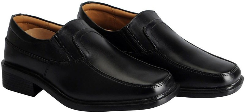 Action Mens Black Formal Slip On(Black)