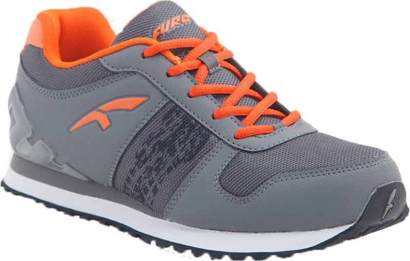 FURO by Red Chief Walking Shoes For Men(Grey, Orange)