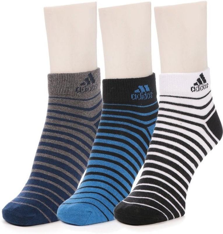 Adidas Men & Women Ankle Length Socks(Pack of 3)