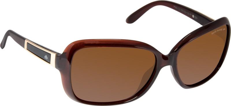 David Blake Over-sized Sunglasses(Black) image