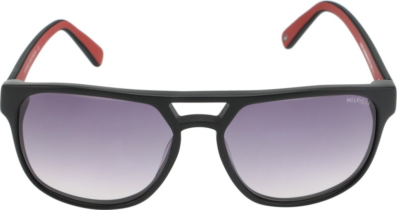 Tommy Hilfiger Wayfarer Sunglasses(Grey)