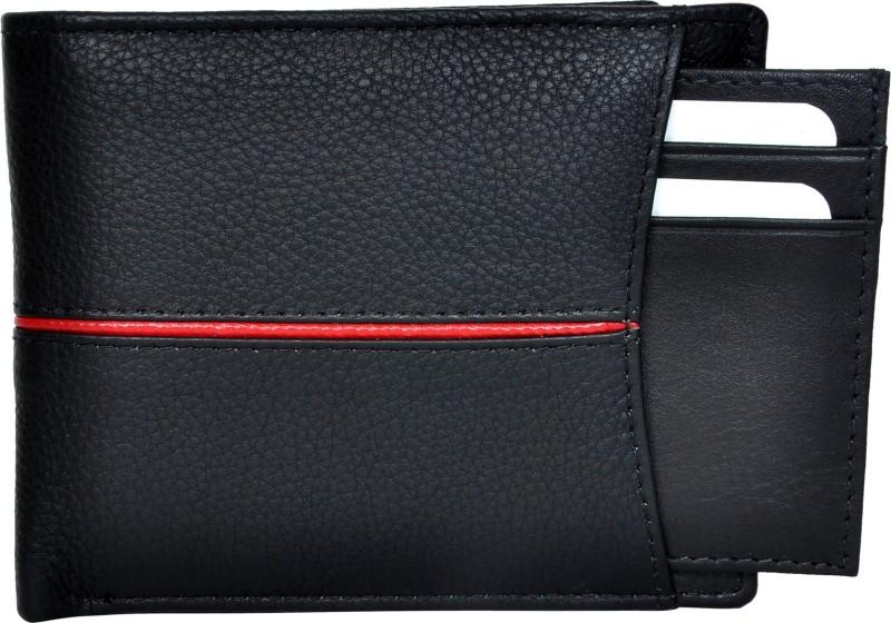 5d807536b Chandair Men Black Genuine Leather Wallet(9 Card Slots)