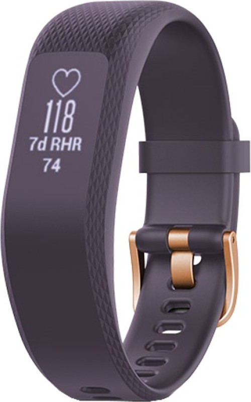 Garmin Vivosmart 3 Smartband(Purple Strap, Size : Regular)