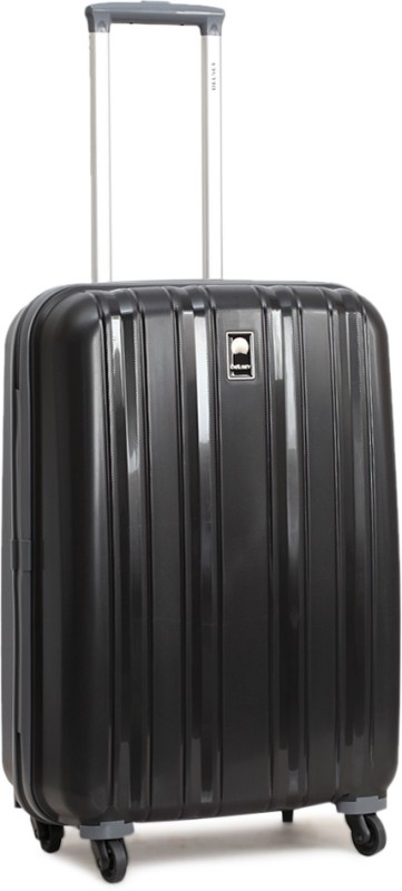 Delsey Cervin Check-in Luggage - 24 inch(Black)