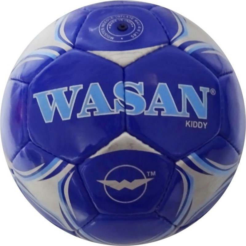 Wasan Kiddy Football - Size: 3(Pack of 1, Blue)