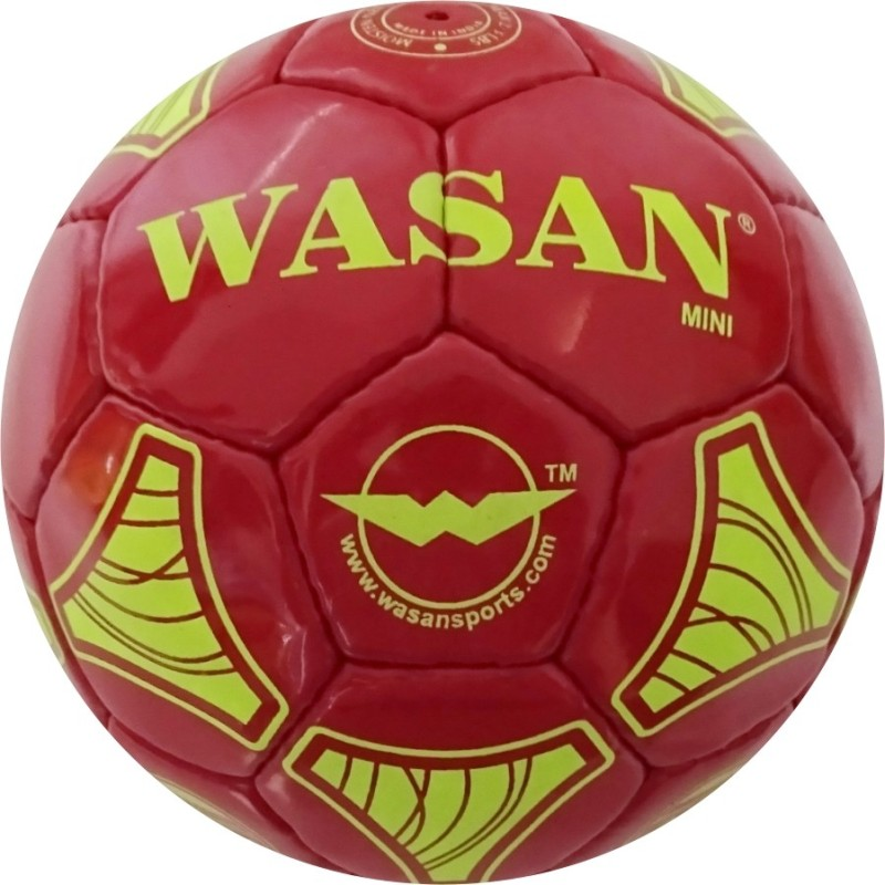Wasan Mini Football - Size: 1(Pack of 1, Red)