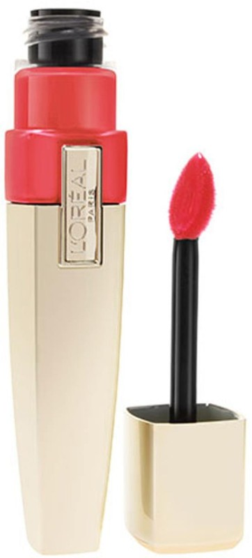 LOreal Paris Paris Shine Caresse Lip Gloss (200-Princess)(Red)