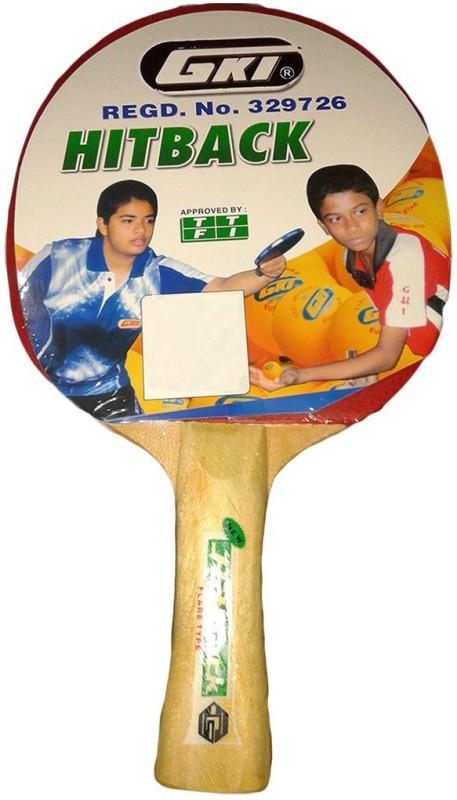 GKI Hitback Multicolor Table Tennis Racquet(80 g)