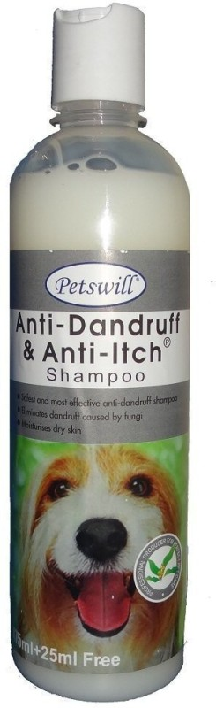 PETSWILL petswill anti dandruff& anti itch shampoo 500ml Anti-dandruff ALOVERA Dog Shampoo(500 ml)