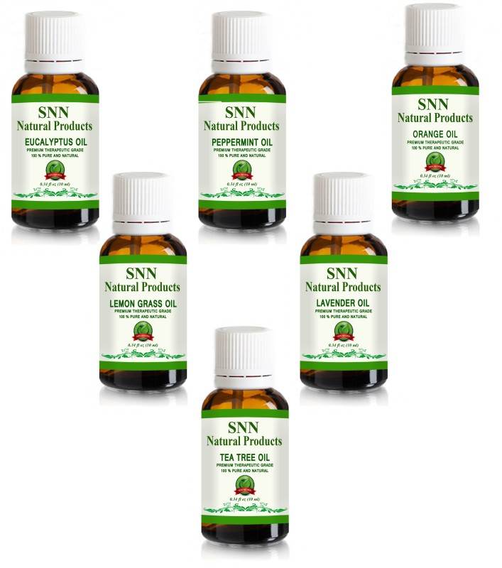 SNN Natural Products Aromatherapy Top 6 Essential Oils 100% Pure...