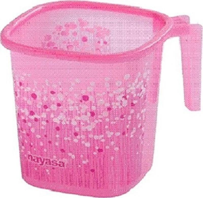 Nayasa Plastic Bath Mug(Pink 1500)