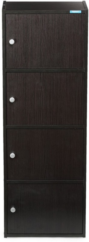 Nilkamal Cary Engineered Wood Free Standing Cabinet(Finish Color - Wenge)