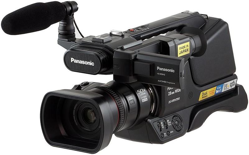 Panasonic PROFESSIONAL CAMCORDER HC-MDH2GC Camcorder(Black) image