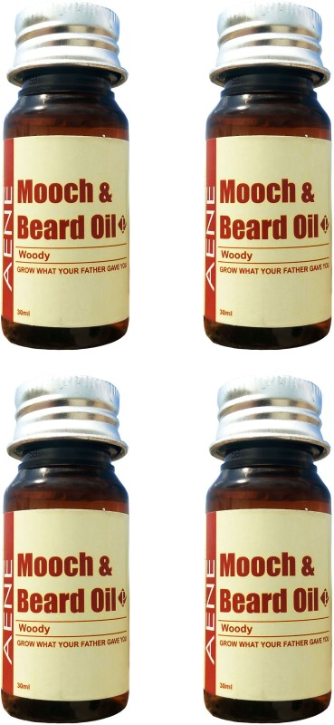 AENE Mooch and Beard Hair Oil(120 ml)