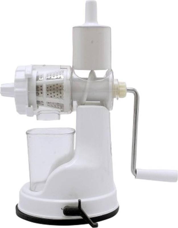 Vsquare Plastic Hand Juicer(White Pack of 1)