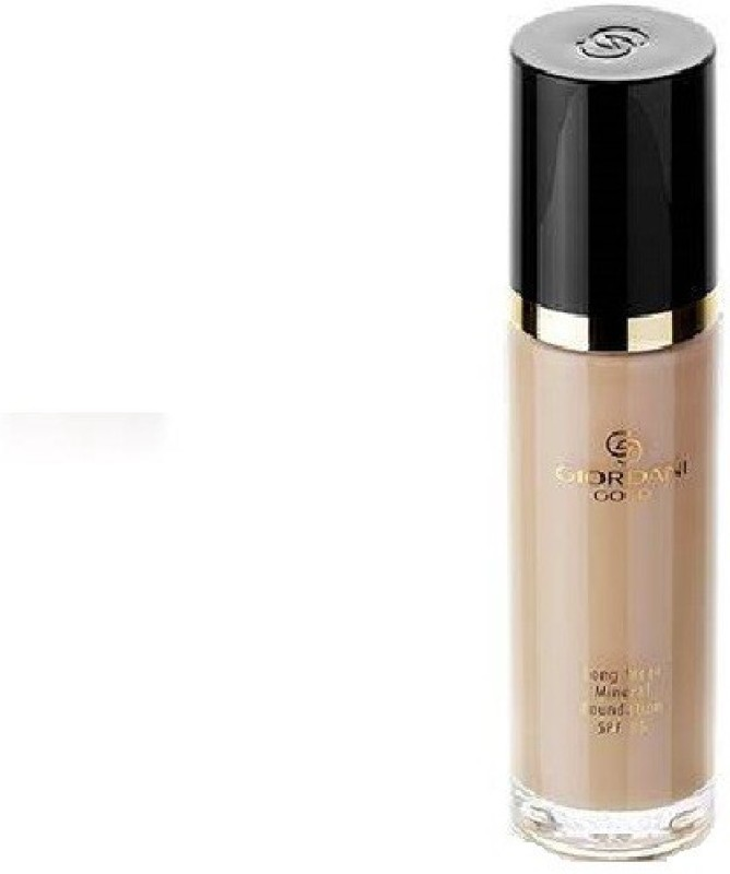 Oriflame Sweden Giordani Gold Long Wear Mineral Foundation SPF 15 - Light Ivory Foundation(Light Ivory, 30 ml)