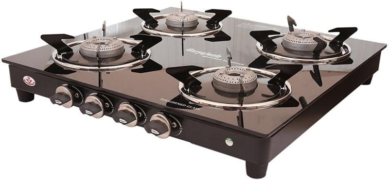 suryajwala ROYALE GT04 AB 4 Burner Stainless Steel Manual Gas Stove(4 Burners)