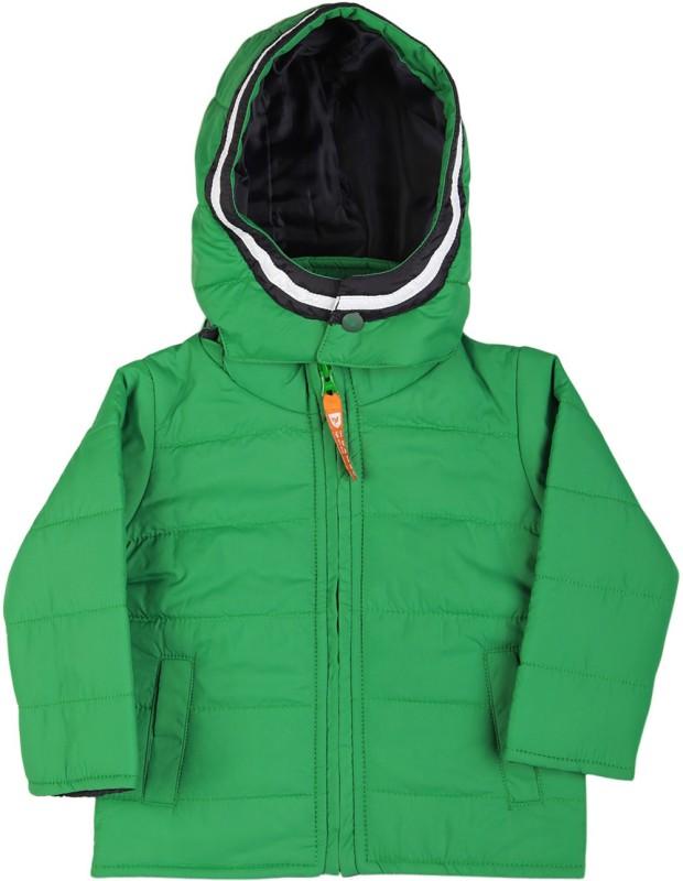 612 League Full Sleeve Solid Boys & Girls Jacket