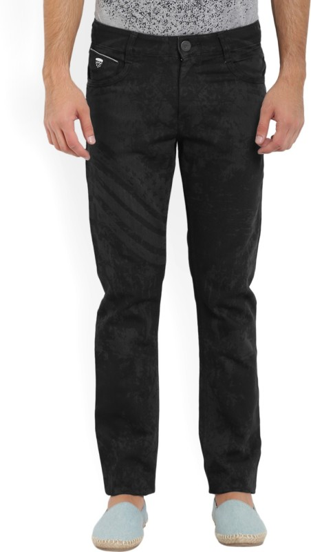 John Players Slim Men Black Jeans