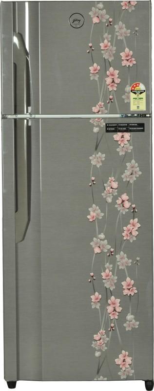 Godrej 331 L Frost Free Double Door Refrigerator(Silver Meadow, RT...