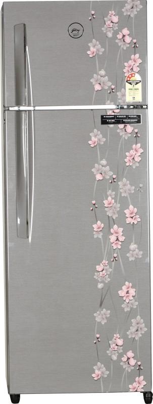 Godrej 290 L Frost Free Double Door Refrigerator(Silver Meadow, RT...