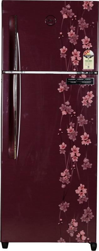 Godrej 261 L Frost Free Double Door Refrigerator(Ruby Petals, RT...