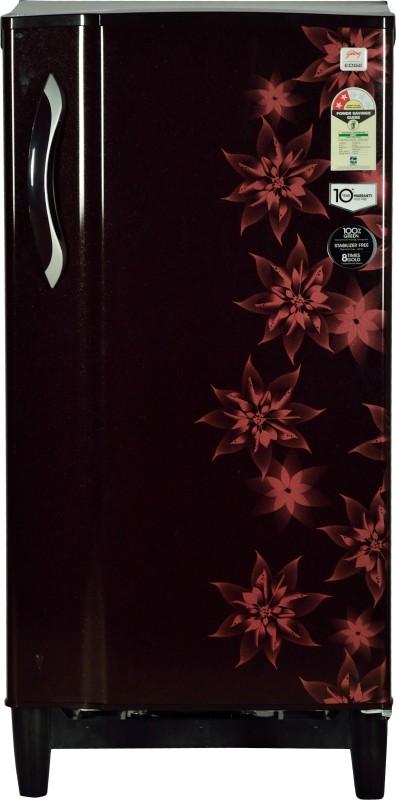 Godrej 185 L Direct Cool Single Door Refrigerator(Berry Bloom, RD...