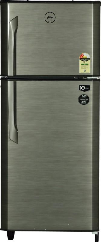 Godrej 231 L Frost Free Double Door Refrigerator(Silver Strokes RT EON 231 C 2.4)