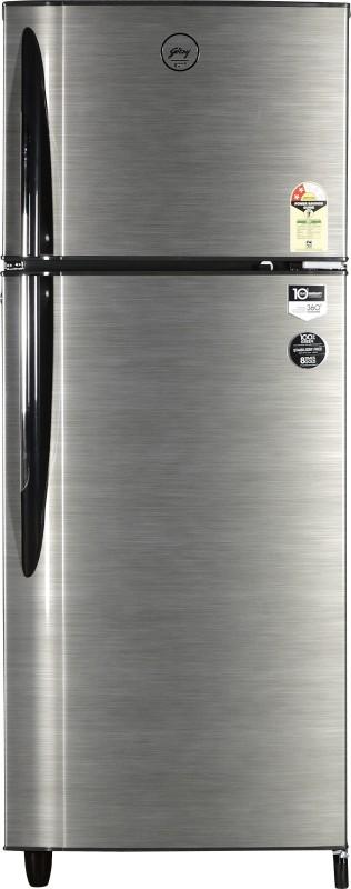 Godrej 260 L Frost Free Double Door Refrigerator(Silver Strokes, RT...