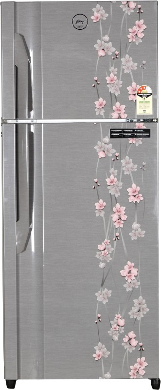 Godrej 311 L Frost Free Double Door Refrigerator(Silver Meadow, RT...