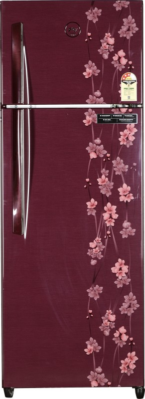 Godrej 290 L Frost Free Double Door Refrigerator(Ruby Petals, RT...