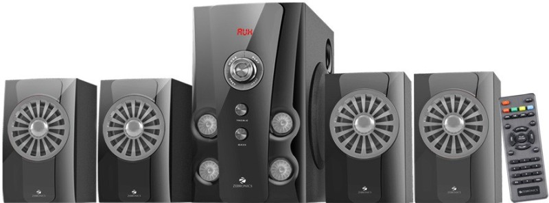 Zebronics -Hope New-BT RUCF Bluetooth Home Theatre(Black, 4.1 Channel)