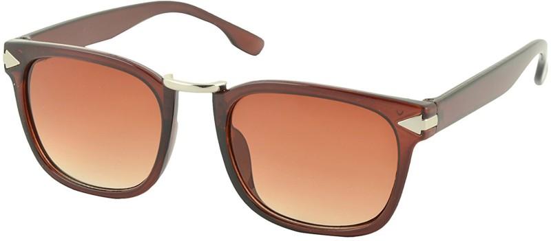 Aventus Wayfarer Sunglasses(Brown)