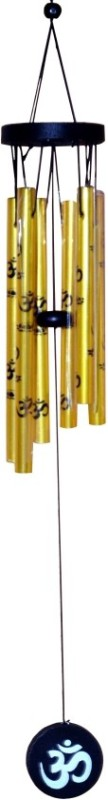 RM Silver Plated Windchime(30.5 inch, Gold)