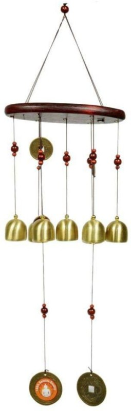VM Gold Plated Windchime(30.5 inch, Gold)