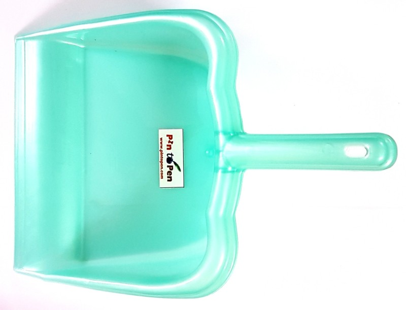 Pin to Pen Plastic Dustpan(Green)