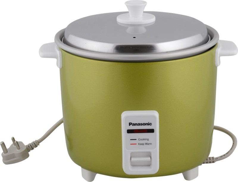 Panasonic SR-WA22H(E) Electric Rice Cooker(5.4 L, Apple Green)