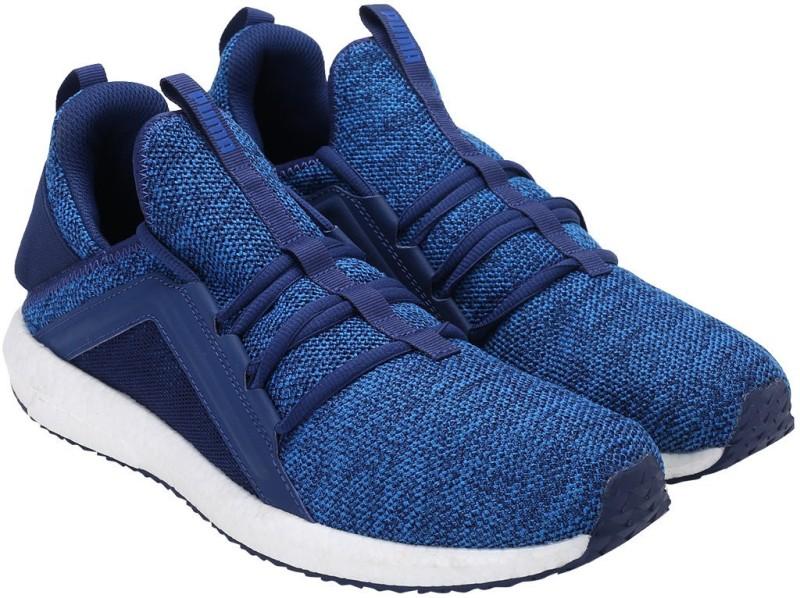 Puma Mega NRGY Knit Running Shoes(Blue) Mega NRGY Knit