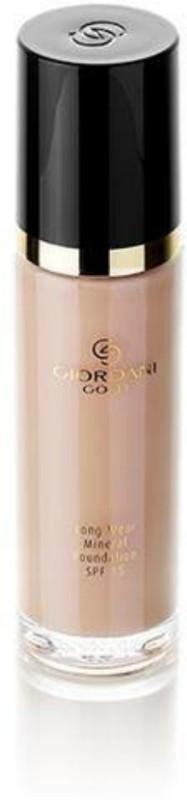 Oriflame Sweden Giordani Gold Long Wear Mineral SPF 15 Foundation(Light Rose, 30 ml)