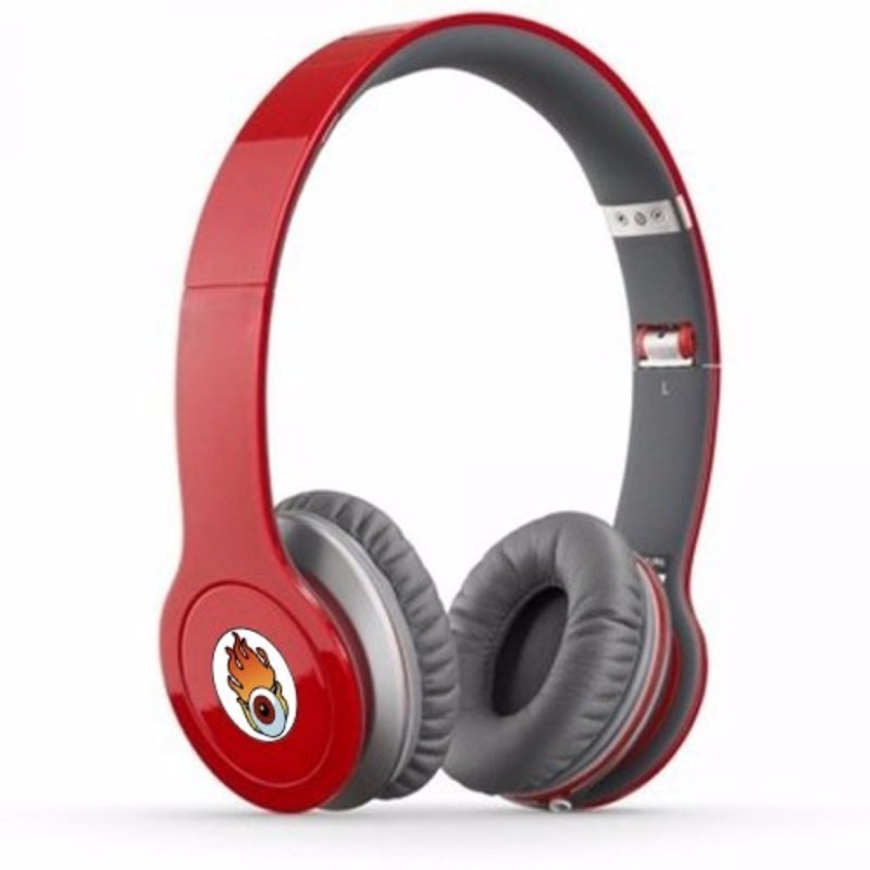 Acid Eye Red Bluetooth Wired and Wireless overear headphone S-450 Smart Headphones(Wireless)