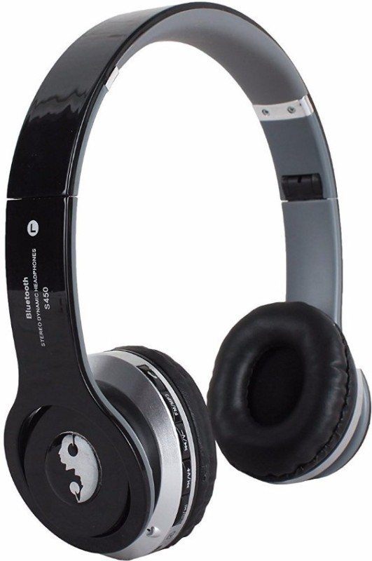 Acid Eye S450-black Bluetooth Headphone Smart Headphones(Wireless)