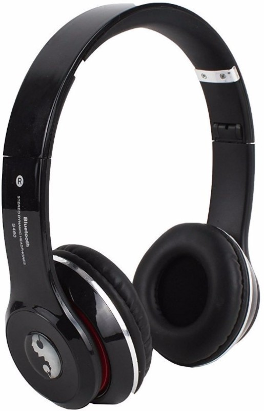 Acid Eye S460-BLACK Bluetooth Headphone Smart Headphones(Wireless)