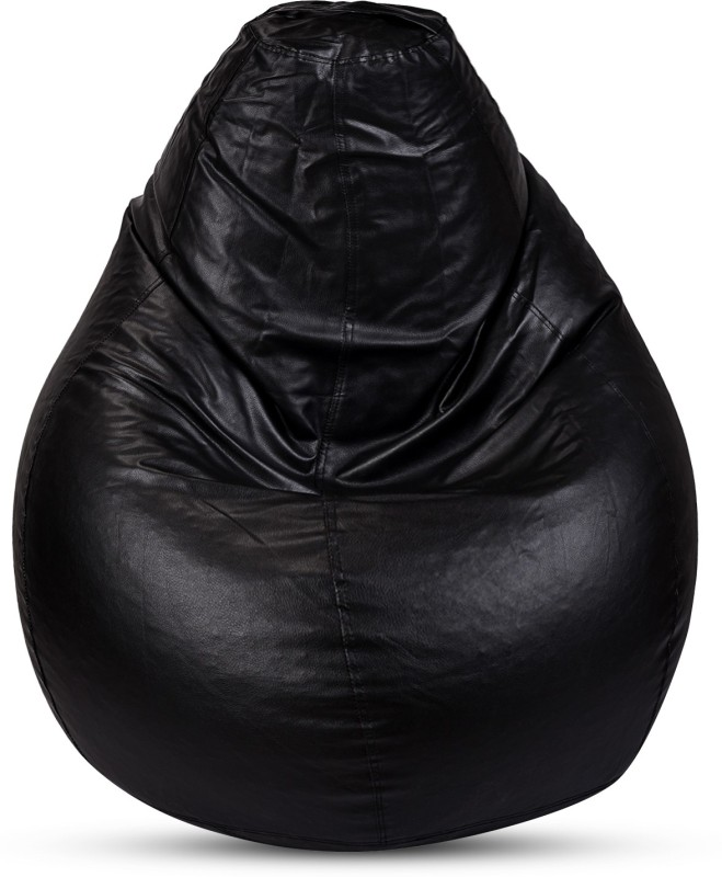 Sultaan XXL Bean Bag Cover (Without Beans)(Black)