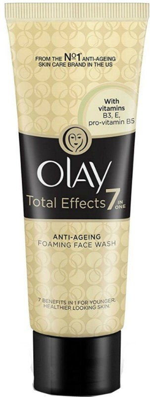 Olay Total Effects 7 in 1 anti aging Foaming Face Wash Cleanser Face Wash(100 g)