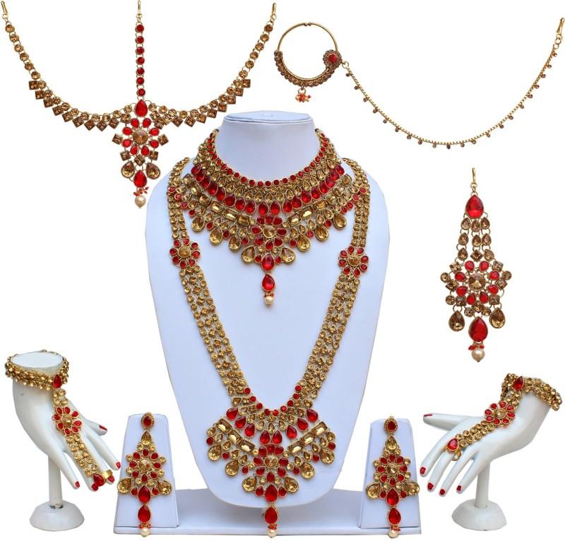 Lucky Jewellery Alloy Jewel Set(Gold)