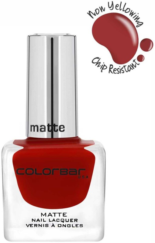 Colorbar Matte Nail Lacquer New Love Bug(12 ml)