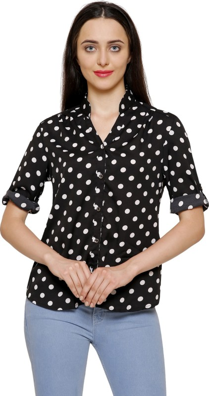 2 Day Women Printed Casual Multicolor Shirt