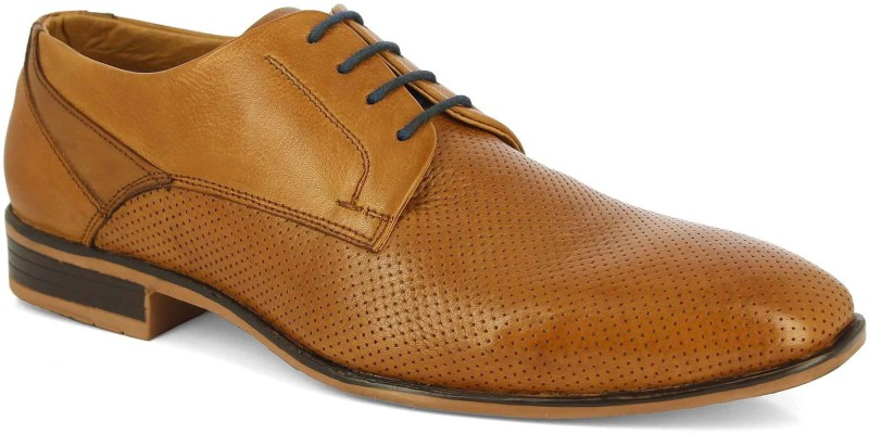 Alberto Torresi Alberto Torresi Rico Tan Formal shoes Derby For Men(Tan)