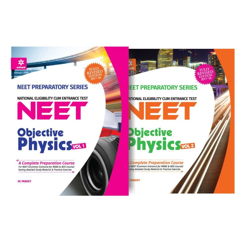 NEET - Objective Physics Volume 1 & 2 (Pack of 2)(English, Paperback, DC Pandey)