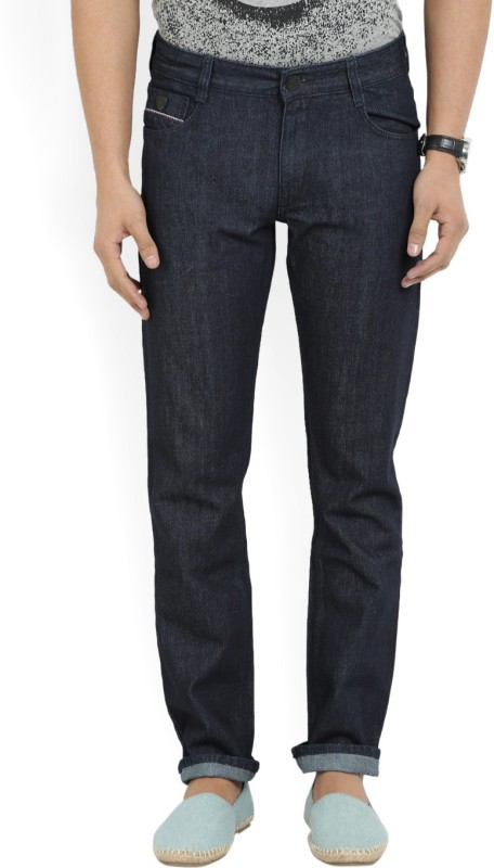 John Players Regular Men Dark Blue Jeans